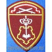 Шеврон вневедомственной охраны Западного округа Росгвардии
