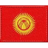 Нашивка флаг Киргизии