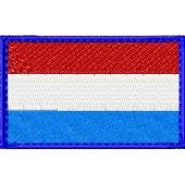Нашивка на рукав флаг Люксембурга