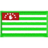 Нашивка на рукав флаг Абхазии