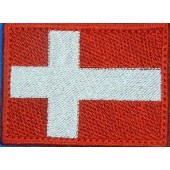 Нашивка на рукав-флаг Дании